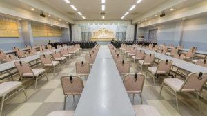 第一ホール 収容人数最大約300人
