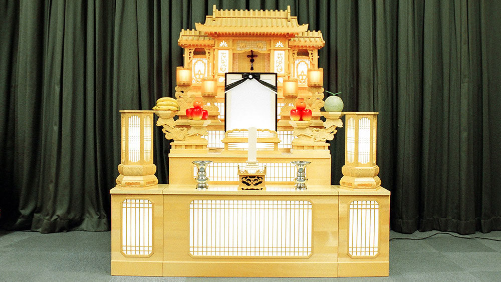 100000円祭壇